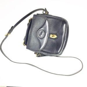 Dooney & Bourke Vintage Black Square Carrier Bag